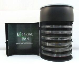 Breaking Bad Complete Series Blu-ray DVD Barrel Box Set Apron Coin USB Matchbook