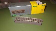 TRIX 62215 Binario curvo R2 raggio 473,5 mm 15° con massicciata BINARIO C