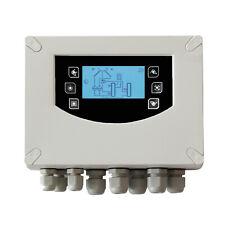 Solarregelung thermostat Temperatur Differenzregler Solar Steuerung Pumpe Anlage