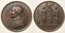 Vaticano medaglia papa Pio IX anno I