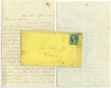 1872 Mount Vernon letter to Mrs L D Tyler Damascus Pennsylvania