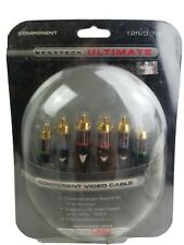 Nexxtech Ultimate Component Video Cable 12ft/3.7m  24k Gold Plated Connectors