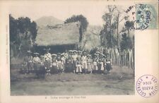 CHINA Savage Pou Sse tribe tribal people 1906 PC