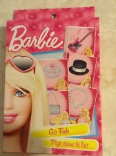 Barbie Go Fish Card Game Mattel NEW