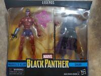Hasbro Marvel Legends Series Black Panther Comic Figures Shuri and Marvel's K...