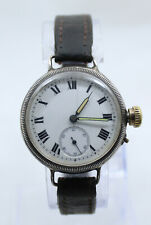 IWC S&Co Peerless SILVER Trench Swiss Watch cal. IWC 64 Savonnette intorno al 1915'