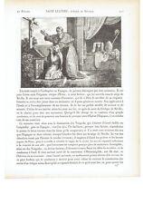 "1825 San Leandro de Sevilla ""Saint Leandre Eveque de Seville"" Cartagena-Siviglia"