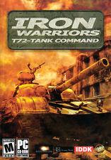 IRON WARRIORS T72 TANK COMMAND Combat Sim PC Game NEW