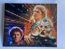 """Colin Baker & Terry Molloy - Doctor Who Autograph - 10"""" x 8"""" Mounted"""