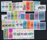 Europa CEPT 1972 Postfrisch 100% stern