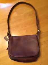 Vintage COACH Patricia's Legacy Brown Crossbody Messenger Bag PURSE Satchel 9951