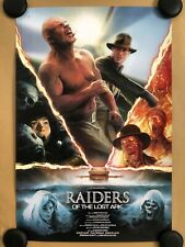 Raiders of the Lost Ark Screen Print by H. Sahlstrom - NT Mondo - Indiana Jones