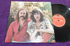 "CROSBY / NASH  ""Wind on the Water ""  1975 LP (Ireland )  POLYDOR 2310 428"