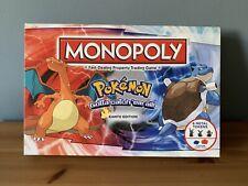 POKEMON MONOPOLY BOARD GAME RARE KANTO EDITION - complete