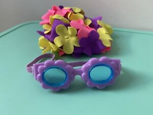 """Accessories For 18"""" Inch Dolls ( Swim Cap And Goggles )"""