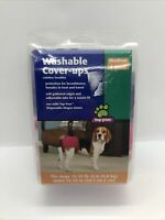 """Top Paw washable Cover-Ups medium dog size garment 15-35lbs 15""""-23"""" waist 2 Pack"""