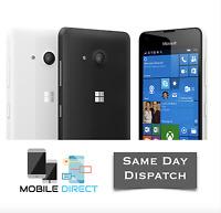 Microsoft Nokia Lumia 550 Brand New 4G LTE Sim-Free Black Unlocked 8GB Quadcore