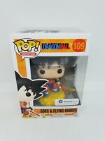 Funko Pop! Vinyl DBZ Galactic Toys Exclusive Goku Nimbus cloud Orange Rare #109