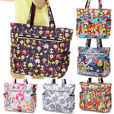 Extra large Women Shopping Beach Nylon Reusable Shoulder bags Handbag Waterproof
