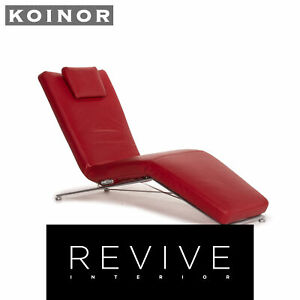 Koinor Jeremiah Lounger Red Relaxfunktion Function Relax Lounger