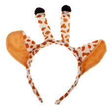 Animal Costume Giraffe Headband with Ears Costume Cosplay Fancy Dress