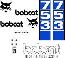 753 d Replacement decals decal kit / sticker set skid loader steer fits bobcat