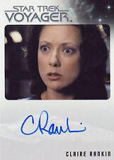 Star Trek Voyager Heroes & Villains Claire Rankin Autograph Card