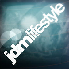 2x JDM LIFESTYLE Car,Bumper,Window VAG DUB JAP DRIFT RACE Vinyl Decal Stickers