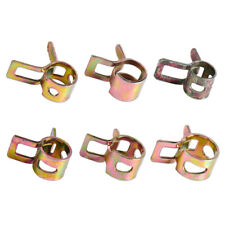 10 x Spring Clip Vacuum Fuel Hose Line Silicone Pipe Tube Band Clamps Fastener