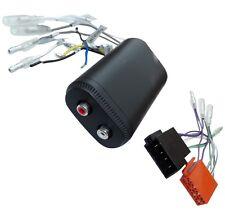Adaptateur faisceau câble ISO RCA pour ampli amplifacteur autoradio + remote
