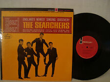 THE SEARCHERS HEAR HEAR VERY RARE STEREO 1ST VERSION WITH NO STAR CLUB ON COVER