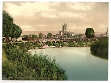 4 Victorian Views Gloucester Cathedral Southgate Westgate Street Photos Posters