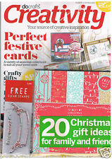 Docrafts creativity magazine Sept 2013 no. 41 +2free clear stamps &20sheet paper