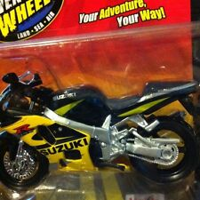 Suzuki GSX-R 600 Black/yellow motorcycle 1/18 GSXR 600 GSXR600 600R Maisto