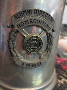 OLE MISS Pewter Alumni Director Cup 1968 HomeComing University of Mississippi