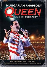 QUEEN HUNGARIAN RHAPSODY LIVE IN BUDAPEST DVD FREDDY MERCURY