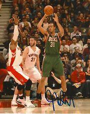 JOHN HENSON signed MILWAUKEE BUCKS 8X10 NBA PHOTO COA
