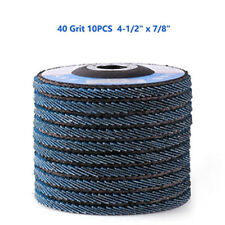 10 x 40 Abrasivo 4.5'' Circona Amoladora Angular Disco Lijadora ruedas