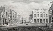 estampe Newport Grande Bretagne etching 1821