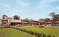 Belleville IL~Town House Motel~South Illinois Street~NICE 1950s Car~1962 PC