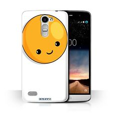 STUFF4 Phone Case for LG Sty Smartphone/Kawaii Food/Protective Cover