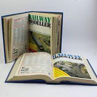 Complete Year Vintage Railway Modeller Magazine - 1985 & 1986 in Blue Binder.