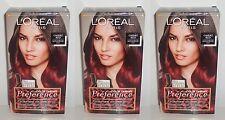 3x Loreal Paris Preference Ombre Red Für Mittelbraunes bis Dunkelbraunes Haar