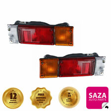 Pair of Tail Lights Lamps Truck Nissan Cabstar H40/H41 1983-On (Drop Side Body)