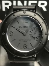 Zuriner Profundidad Charge ZV-01 V14 Phantom Suizo Unitas Eta 6497 200m 48mm Dlc