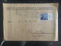 1944 Berlin Germany Printed Matter Cover Domestic Used