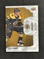 2019-20 UPPER DECK ENGRAINED TRENT FREDERIC ROOKIE SILVER #ed 53/299