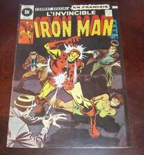 Editions Heritage Invincible Iron Man # 26 1976 French Edition Black White 2