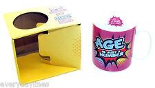 * Inside Out Mugs - Age Is Just A Number - Novelty Fun Mug - Gift Mug -  Boxed *