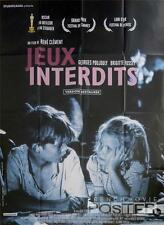 JEUX INTERDITS / FORBIDDEN GAMES - WAR - REISSUE LARGE FRENCH MOVIE POSTER